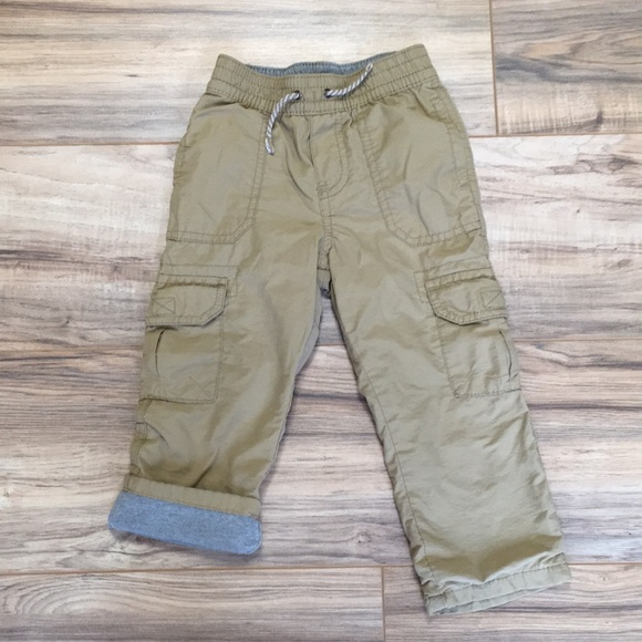 Unisex Clothing Pants Cherokee Khaki Pants Lined Size 3t